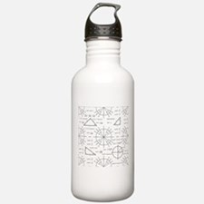 Trig and Triangles Sports Water Bottle