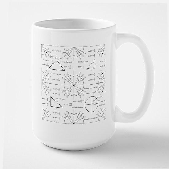Trig and Triangles Large Mug