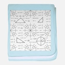 Trig and Triangles baby blanket