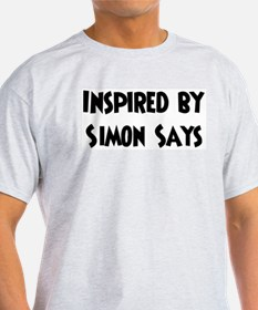 Inspired by Simon Says Ash Grey T-Shirt