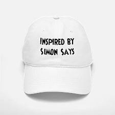 Inspired by Simon Says Baseball Baseball Cap