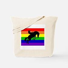 Gay Cowboy Tote Bag
