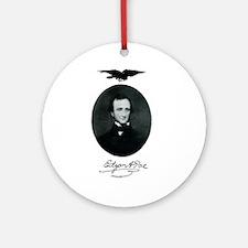 E.A. Poe Ornament (Round)