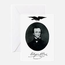E.A. Poe Greeting Card