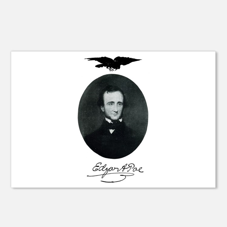 E.A. Poe Postcards (Package of 8)
