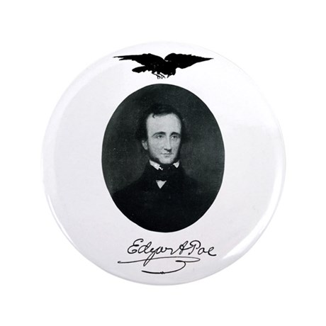 "E.A. Poe 3.5"" Button (100 pack)"
