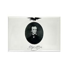 E.A. Poe Rectangle Magnet