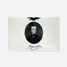 E.A. Poe Rectangle Magnet