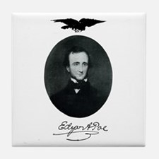 E.A. Poe Tile Coaster