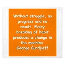 George Gurdjieff gifts and ap King Duvet