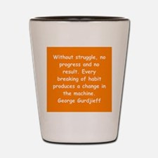 George Gurdjieff gifts and ap Shot Glass