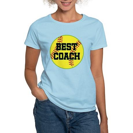 Softball Coach Gift Women's Light T-Shirt
