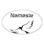 Namaste Sticker (Oval 10 pk)