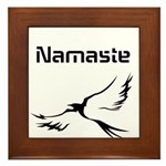 Namaste Framed Tile
