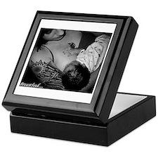 Hip Breastfeeding Mama Keepsake Box