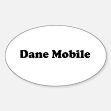 Dane Mobile Sticker (Oval)