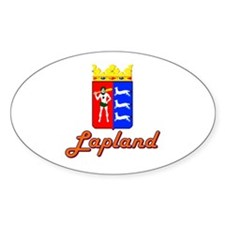 Lapland-1 Oval Decal