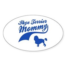 Skye Terrier Mommy Decal