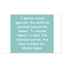 martin buber gifts and appare Postcards (Package o