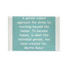 martin buber gifts and appare Rectangle Magnet