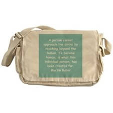 martin buber gifts and appare Messenger Bag