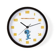 Blue N.E.L.F Wall Clock