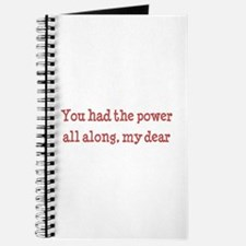 you had the power Journal