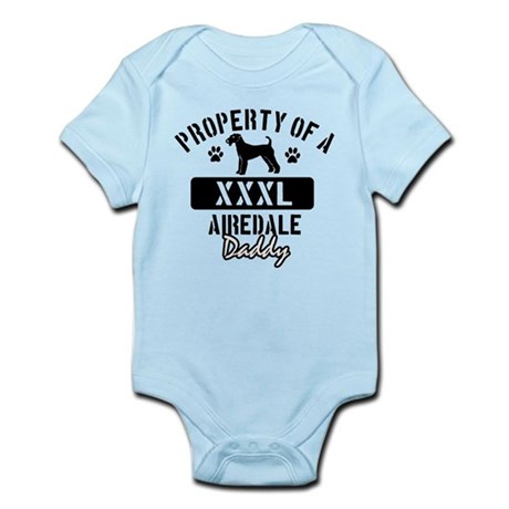 Airedale Daddy Designs Infant Bodysuit