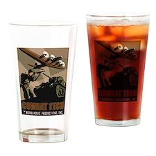Combat Tech Drinking Glass