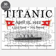 Titanic Ghost Ship (white) Puzzle