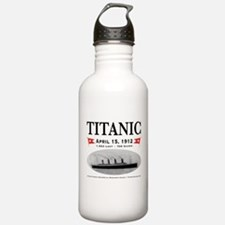 Titanic Ghost Ship (white) Water Bottle