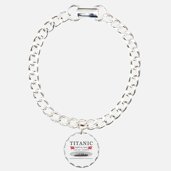 Titanic Ghost Ship (white) Bracelet