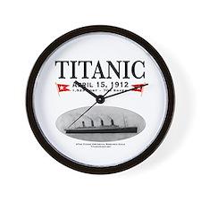 "Titanic Ghost Ship 10"" Wall Clock (white)"