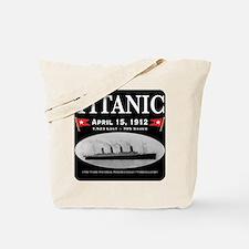 Titanic Ghost Ship (black) Tote Bag