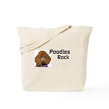 Poodles Rock Tote Bag