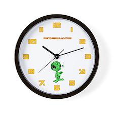 Green N.E.L.F Wall Clock