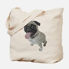 Pug Close-Up Tote Bag