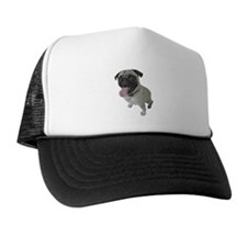 Pug Close-Up Trucker Hat