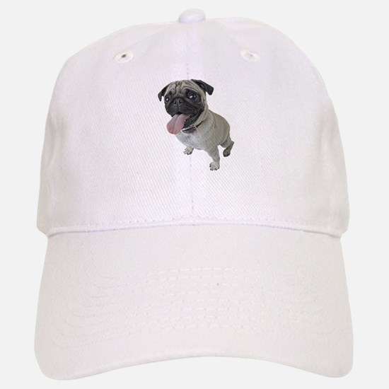 Pug Close-Up Baseball Baseball Cap