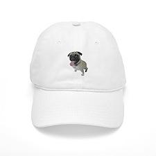 Pug Close-Up Cap