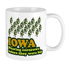 Iowa cornrows before hip Mug