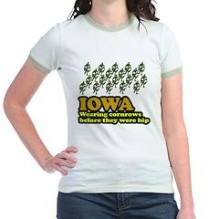 Iowa cornrows before hip T