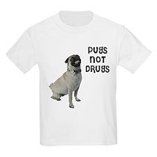 Pugs Not Drugs T-Shirt