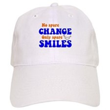 Spare Change Spare Smiles Baseball Cap