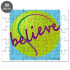 Believe (tennis ball) Puzzle