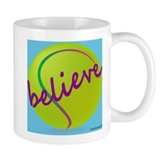 Believe (tennis ball) Mug