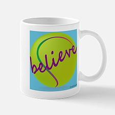 Believe (tennis ball) Small Small Mug