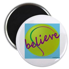 Believe (tennis ball) Magnet