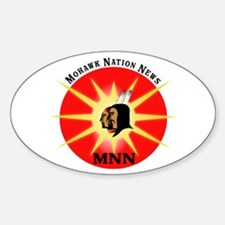 MNN Oval Bumper Stickers