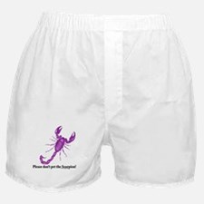 Don't pet the Scorpion! Boxer Shorts